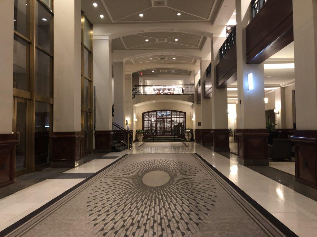 lobby Capital Hilton Winter in Washington, DC PullOverAndLetMeOut
