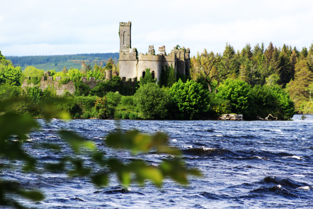 Castle Island at Lough Key in Boyle, Co. Roscommon PullOverANdLetMeOut