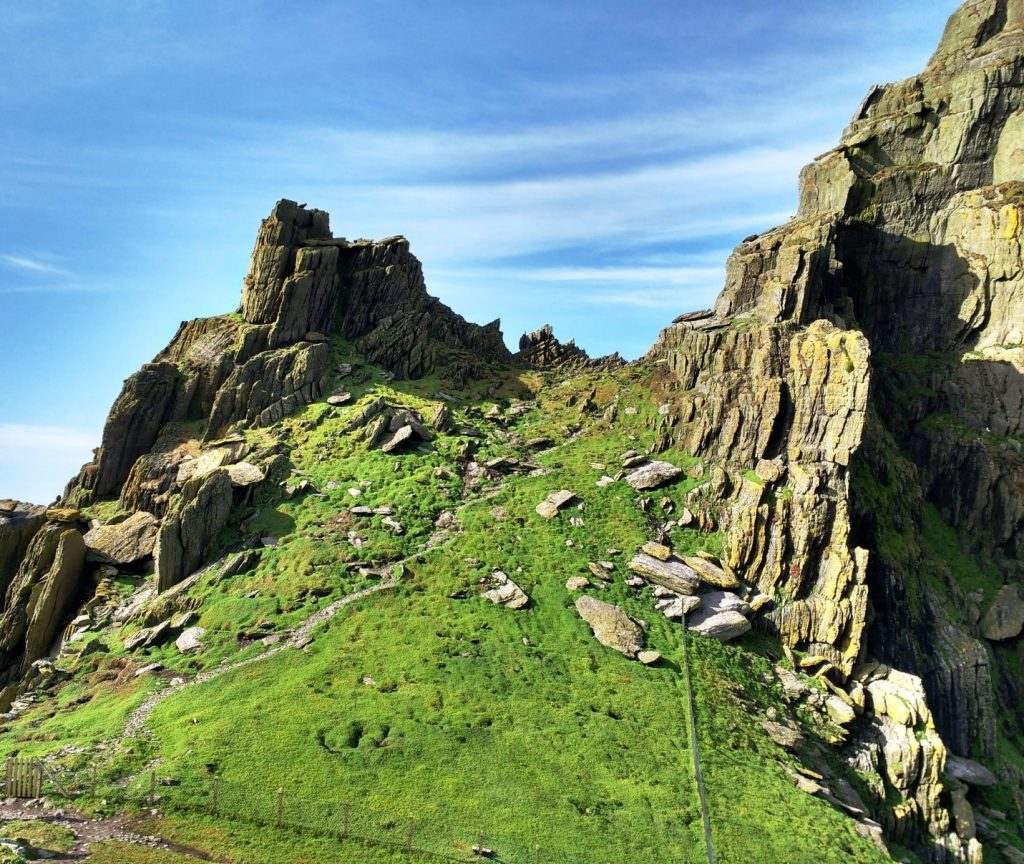 Skellig Michael be present PullOverAndLetMeOut Katrina Morocco