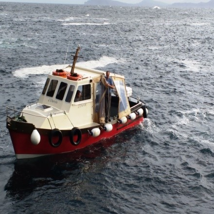 Skellig Michael boat PullOverAndLetMeOut Katrina Morocco