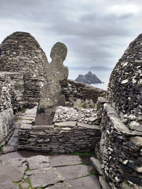 Skellig Michael rocks by Katrina Morocco PullOverAndLetMeOut