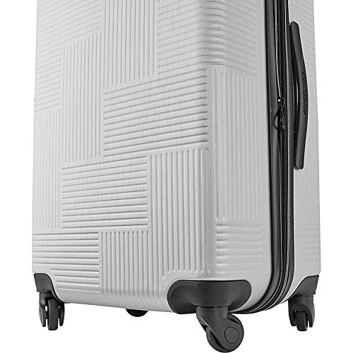 Blue Spruce American Tourister Stratum XLT Expandable Hardside Luggage with Spinner Wheels