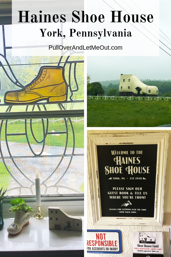 A pinable image for the Haines Shoe House in York, Pennsylvania