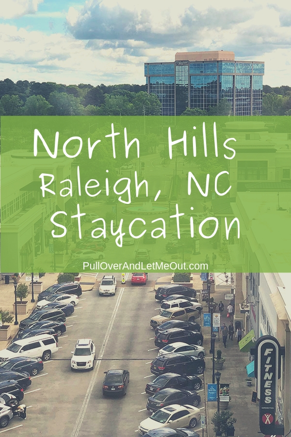 The North Hills neighborhood of Raleigh, NC