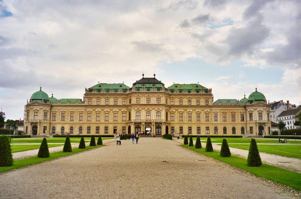 Belvedere Palce in Vienna, Austria PullOverAndLetMeOut.com
