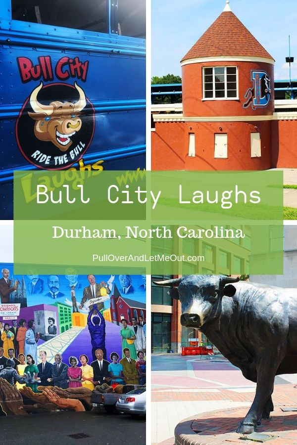 Bull City Laughs collage of pictures PullOverAndLetMeOut.com