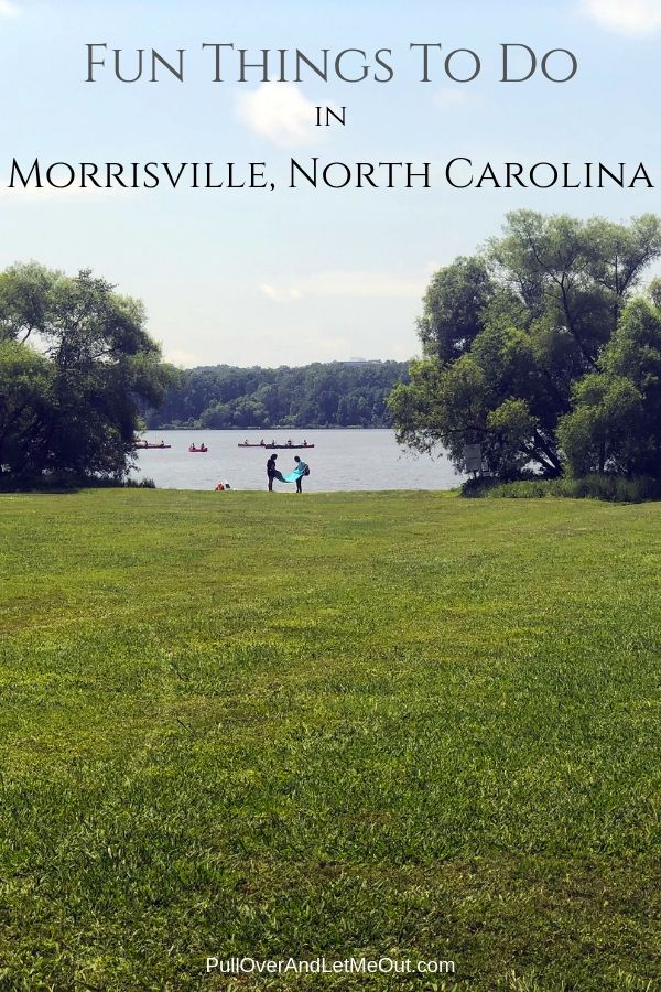 Crabtree Lake County Park in Morrisville, NC PullOverAndLetMeOut