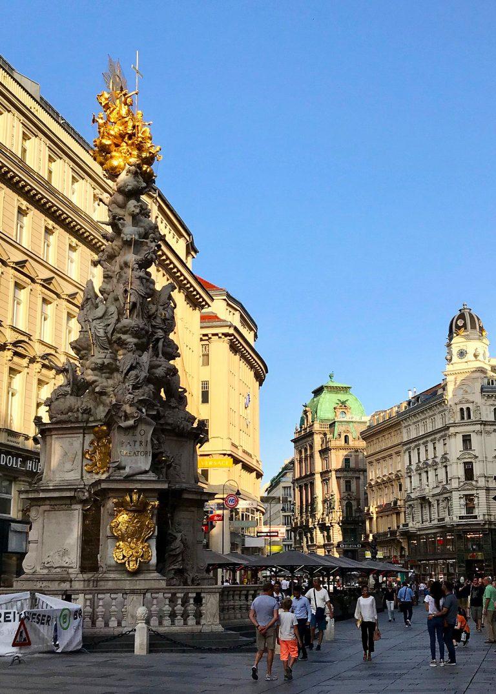 Pestsaule in Vienna Austria. PullOverAndLetMeOut.com