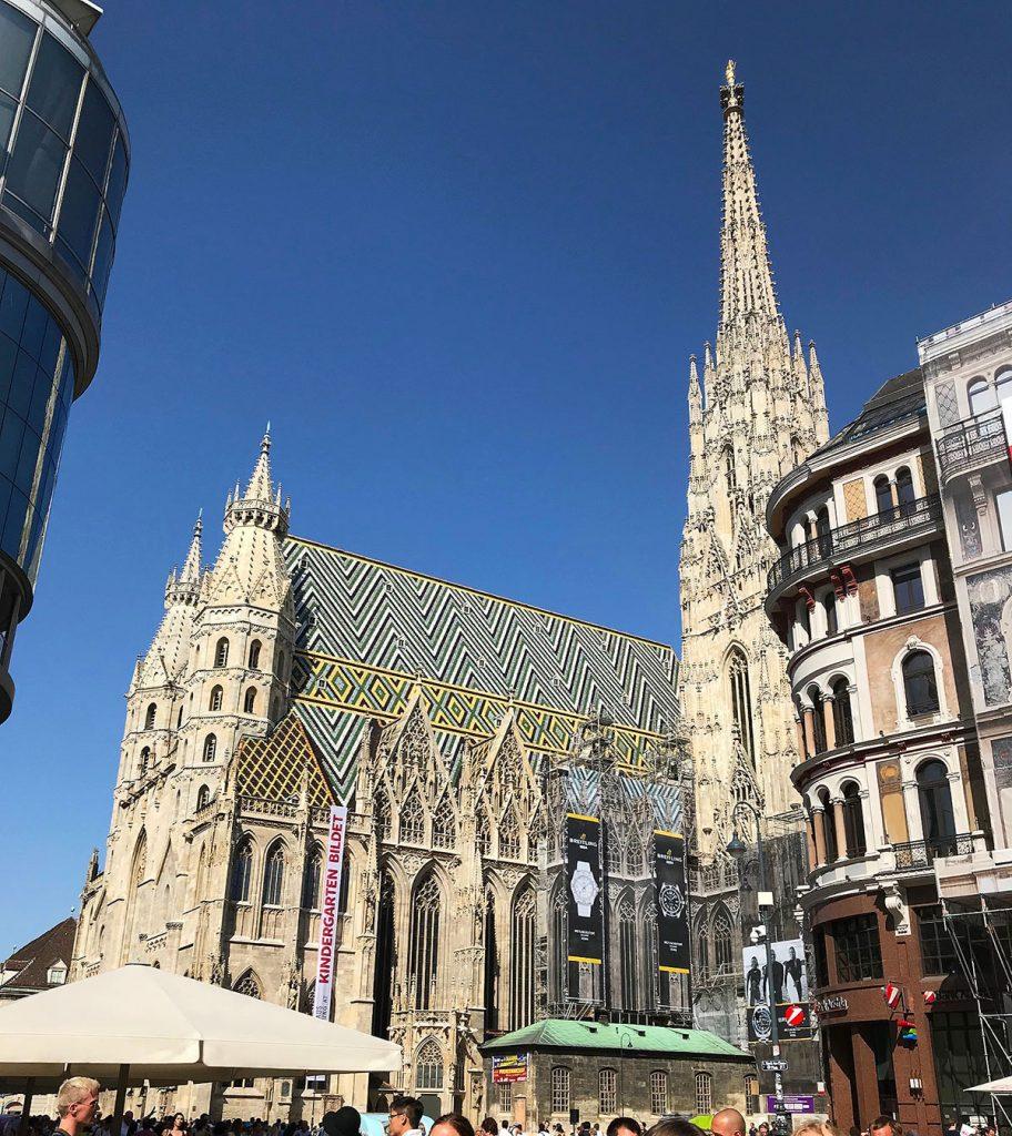 St. Stephen's Cathedral in Vienna, Austria. PullOverAndLetMeOut.com