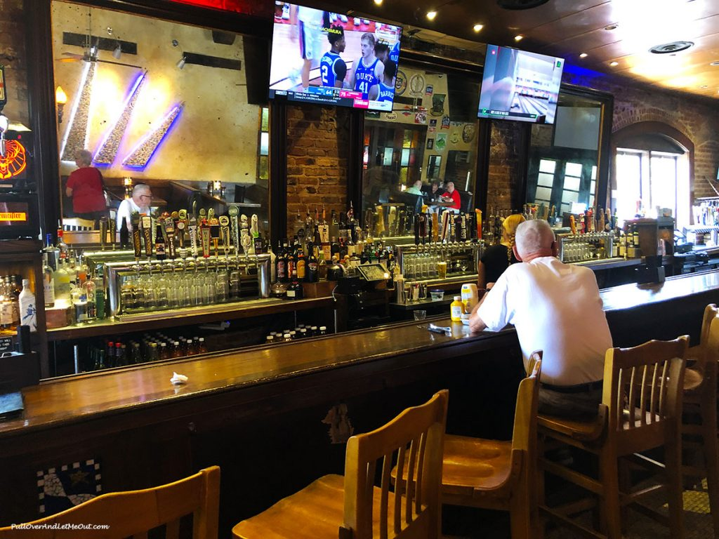 The bar at Liberty Tap Room & Grill in Columbia SC PullOverAndLetMeOut