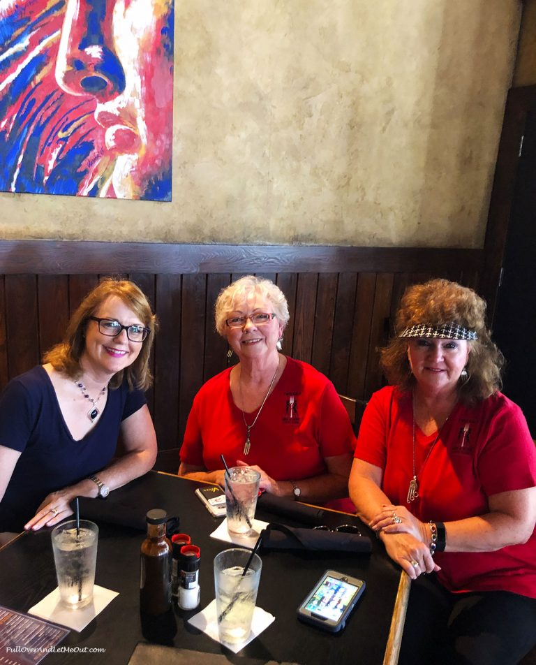 Anna Marie with Janet Jordan and Gloria Freeman of Two Gals And A Fork Food Tours. PullOverAndLetMeOut