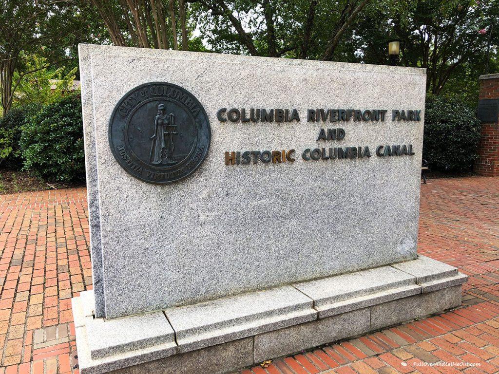 Riverfront Park Sign PullOverAndLetMeOut