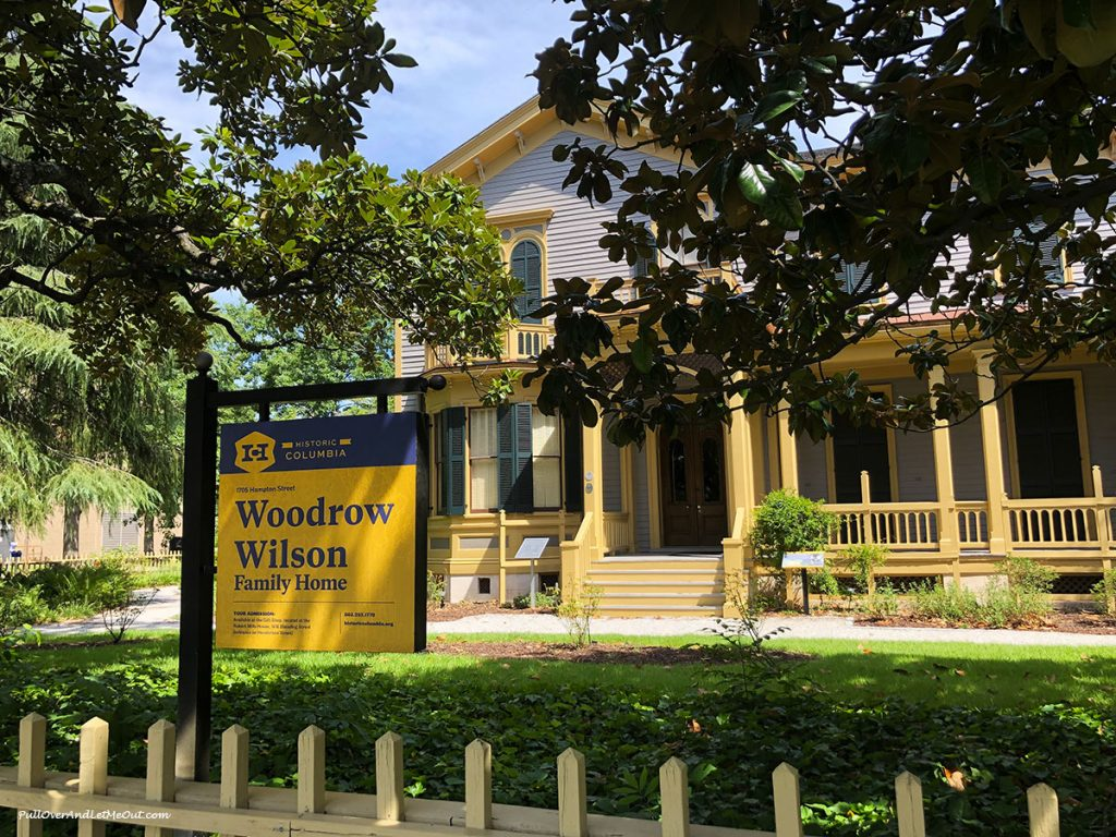 Woodrow Wilson's boyhood home Columbia, SC