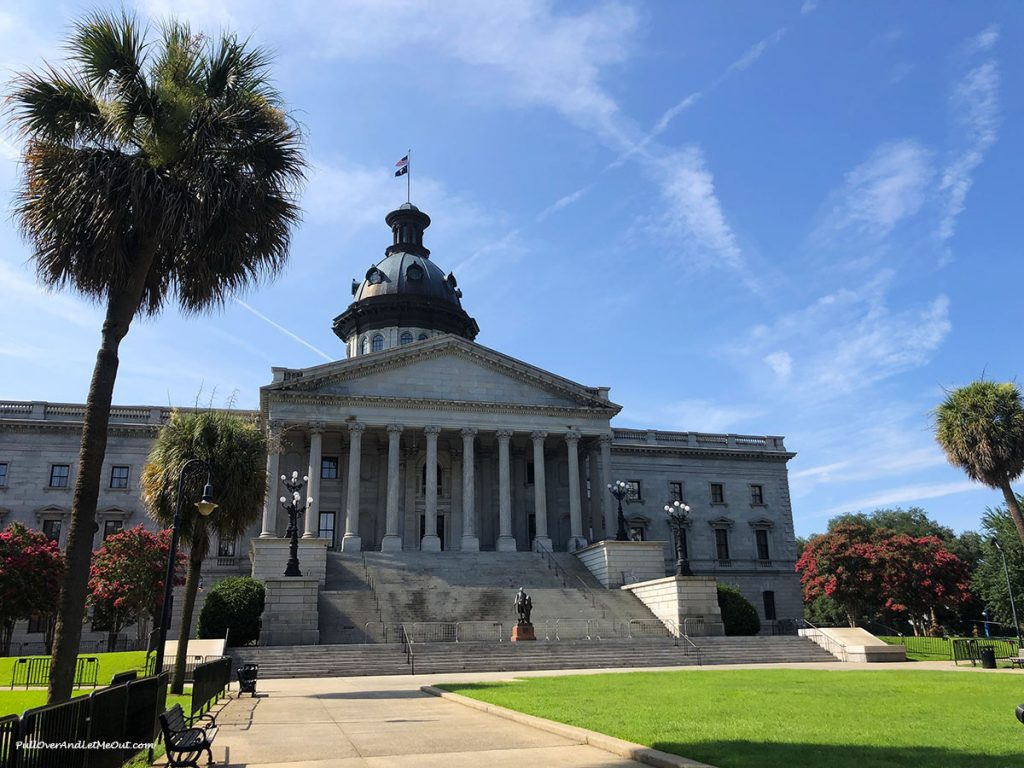 The South Carolina State House PullOverAndLetMeOut