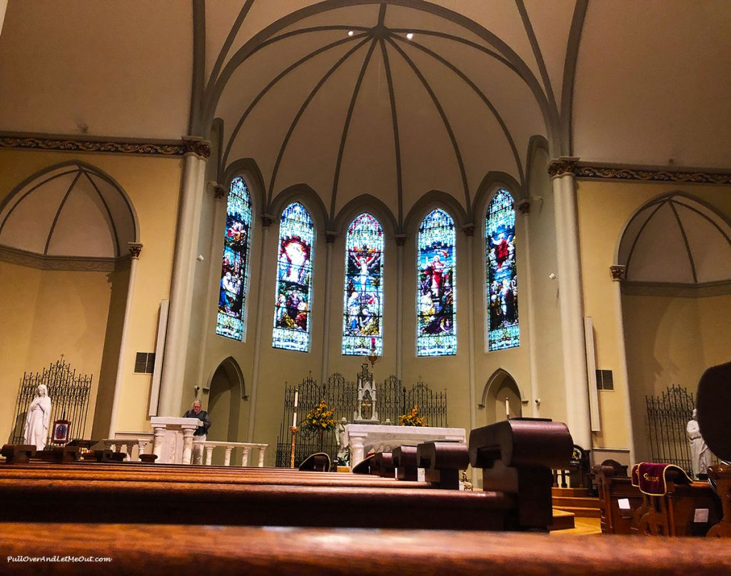 Altar at the Basilica of St. Peter Columbia, SC