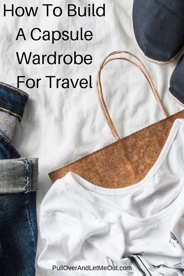 clothes for a capsule wardrobe for travel