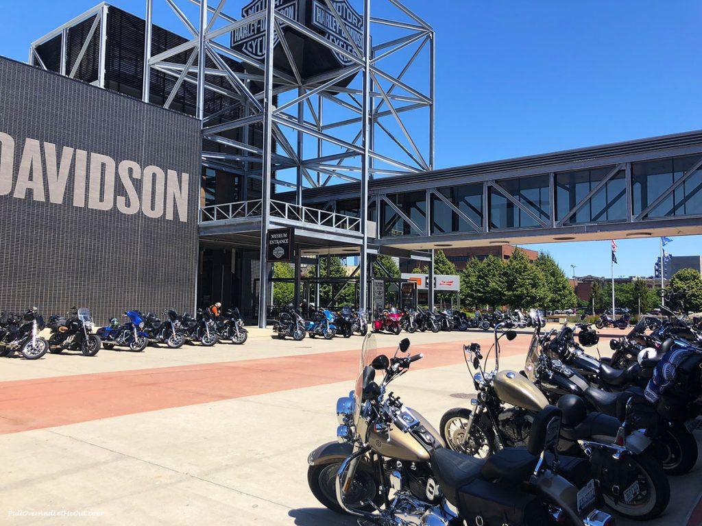 Harley-Davison Museum in Milwaukee, WI. PullOverAndLetMeOut