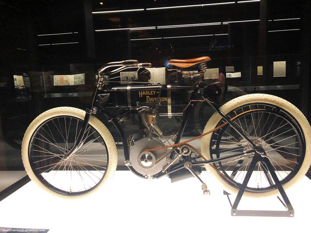 1903 Harley-Davidson Motorcycle. PullOverAndLetMeOut