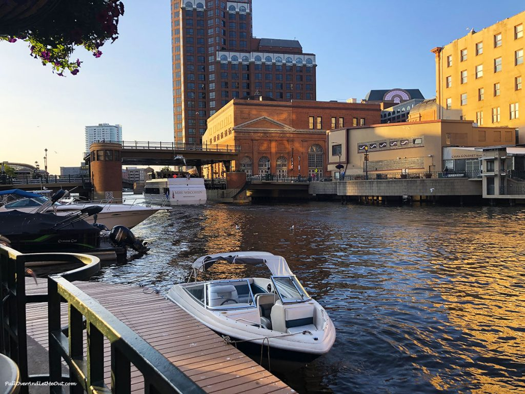 Boat on the Milwaukee River