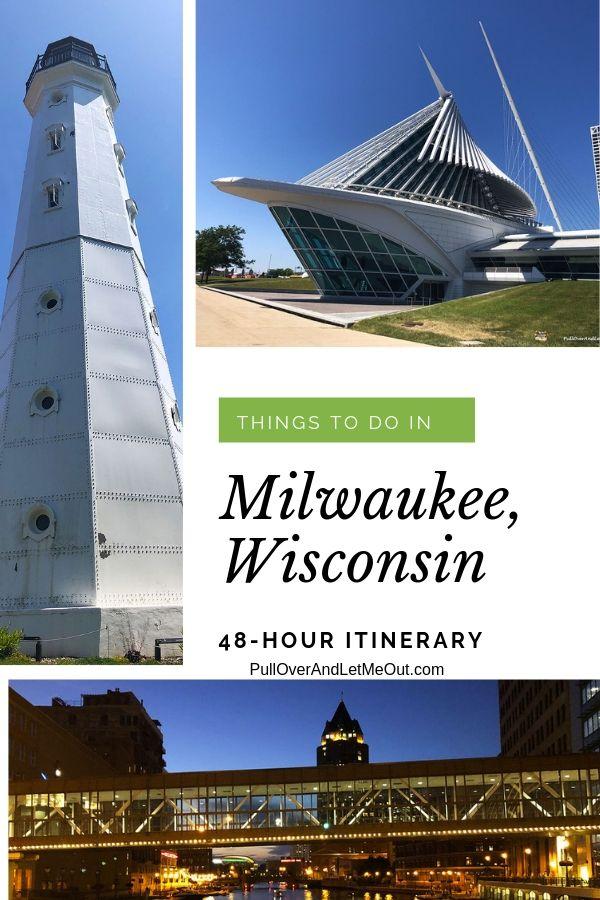 collage of Milwaukee photos PullOverAndLetMeout