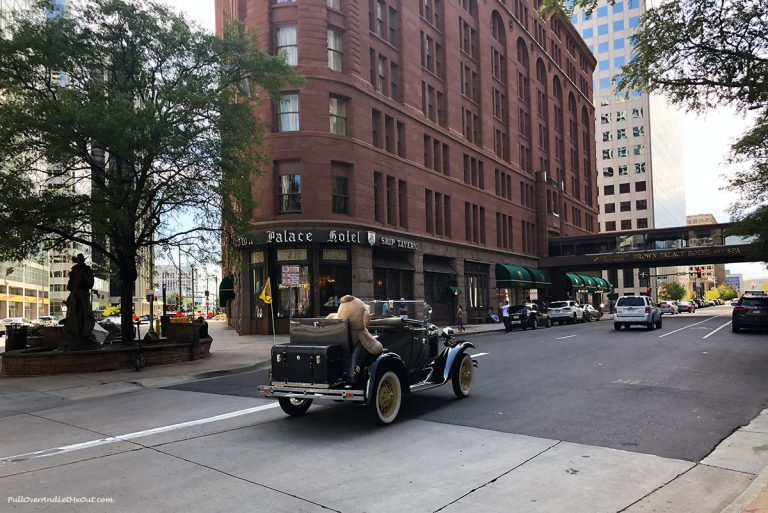 Brown Palace Hotel in Denver, CO. PullOverAndLetMeOut