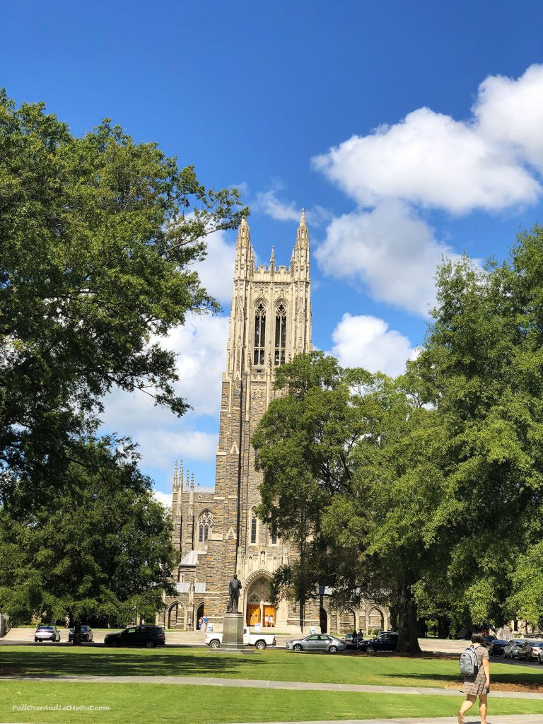 Duke Chapel at Duke University. PullOverAndLetMeOut