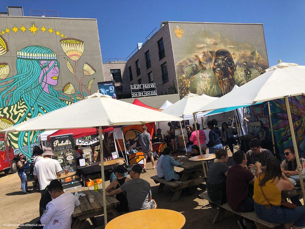 Art Fest in Denver's RiNo Art District. PullOverAndLetMeOut