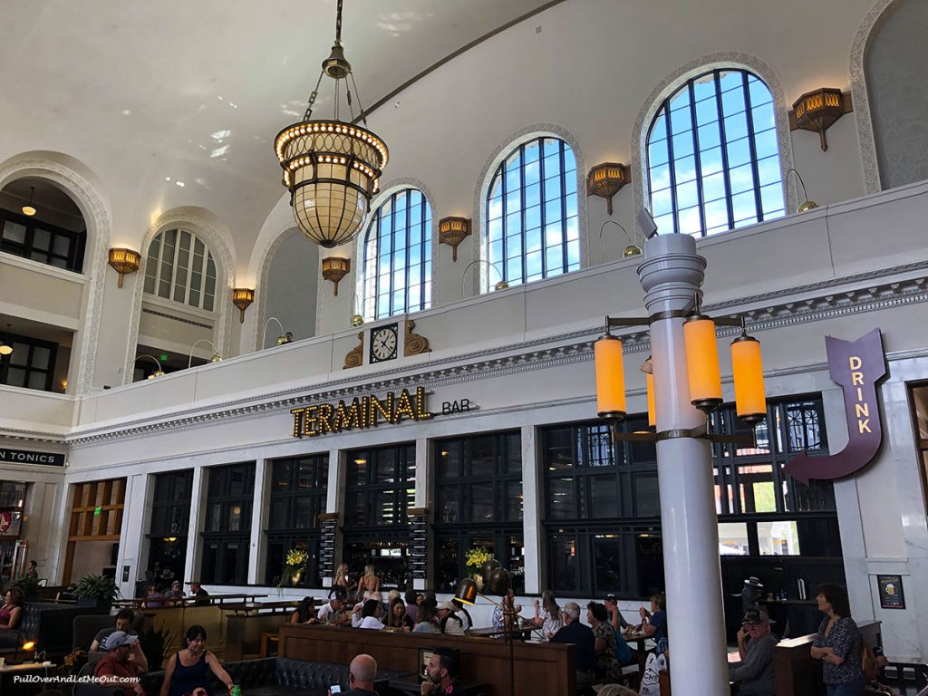 Terminal Restaurant inside Union Station Denver, CO. Visit Denver PullOverAndLetMeOut