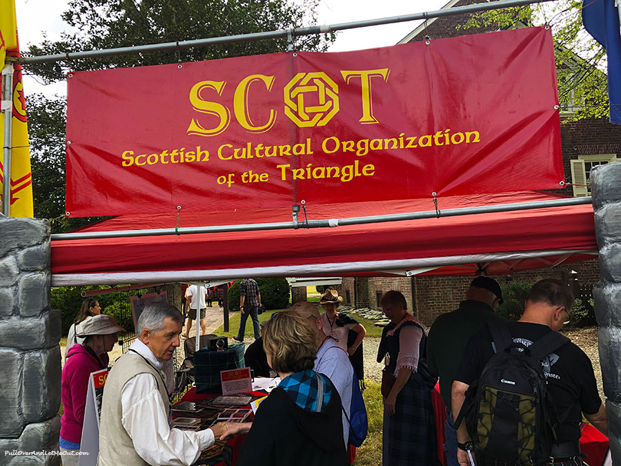 Scotish cultural booth