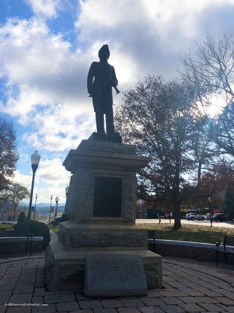 Statue in Burnsville Town Square PullOverAndLetMeOut