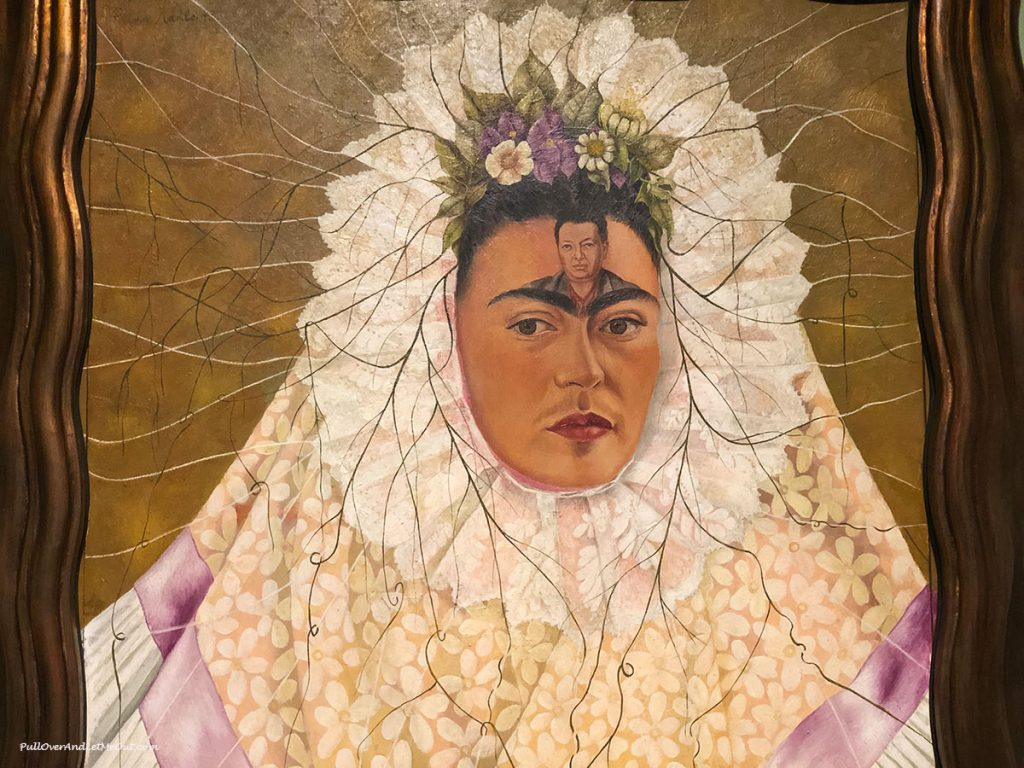 Painting Diego on my Mind by Frida Kahlo