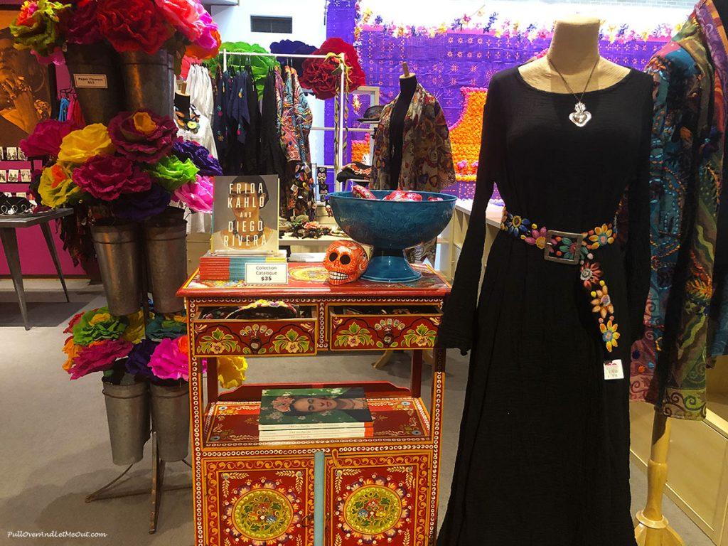 Frida shop at North Carolina Museum of Art PullOverAndLetMeOut