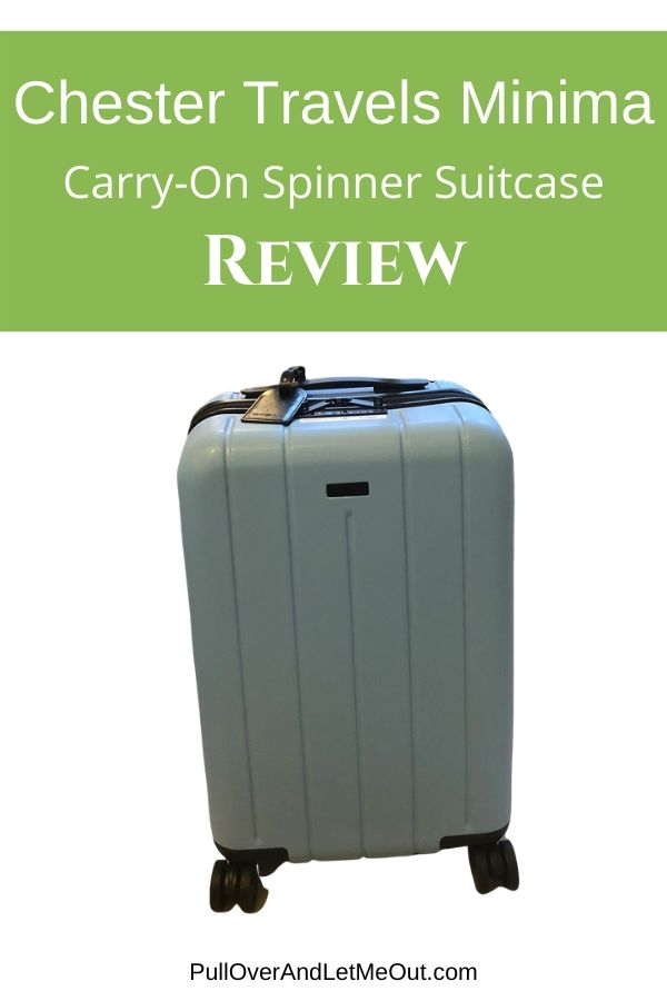 The Chester Travels Minima Carry-on Spinner Suitcase