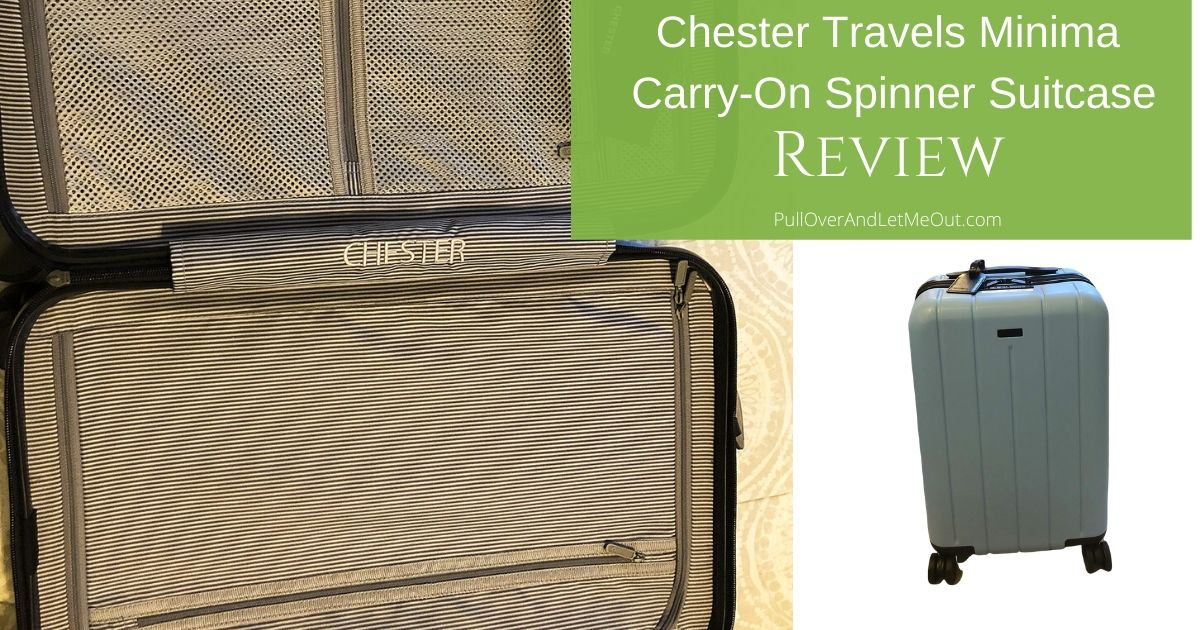 Chester Travels Minima Carry-On Spinner Suitcase