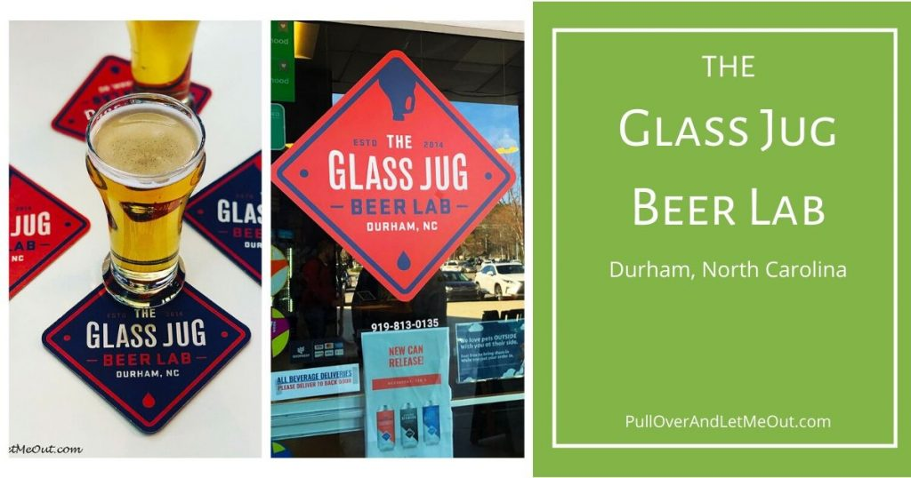 The Glass Jug Beer Lab in Durham, NC