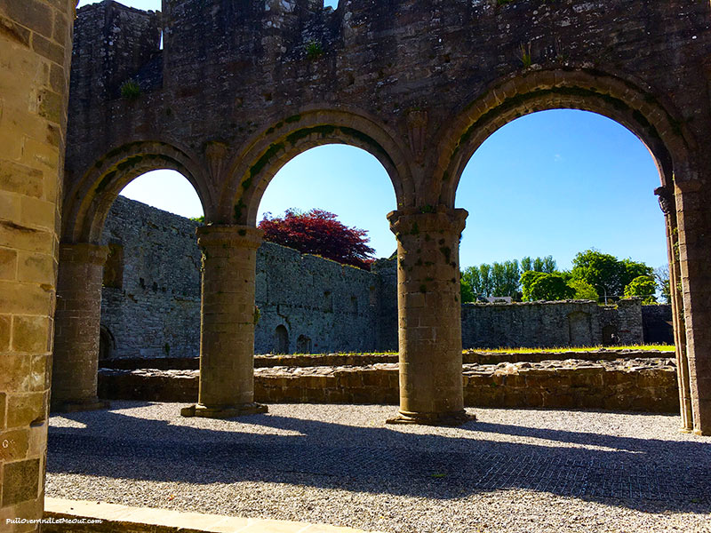 Arches in the Boyle Abbey in Ireland PullOverAndLetMeOut