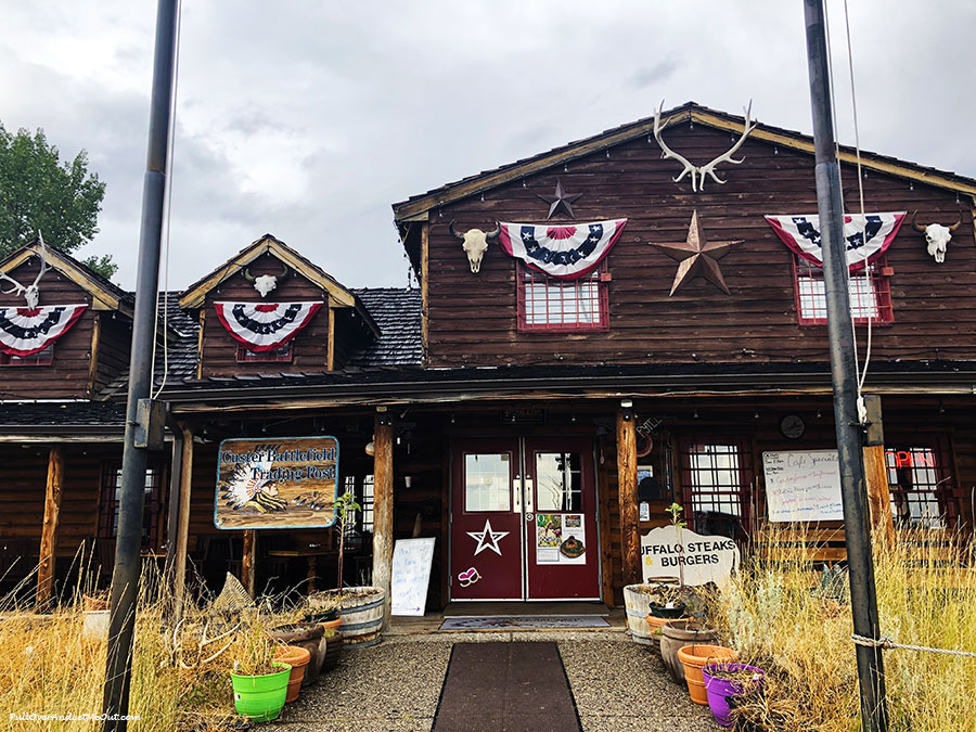 Custer Battlefield Trading Post in Montana