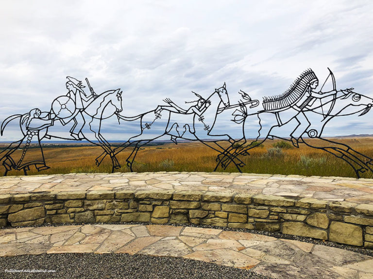 Indian Memorial at Little Bighorn National Monument