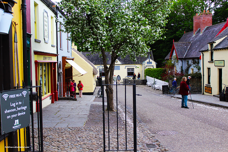 The 19th Century Village at Bunratty Castle and Folk Park