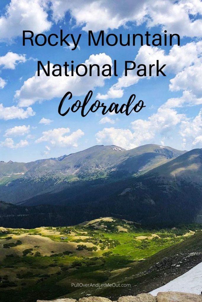 Rocky Mountain National Park Colorado view