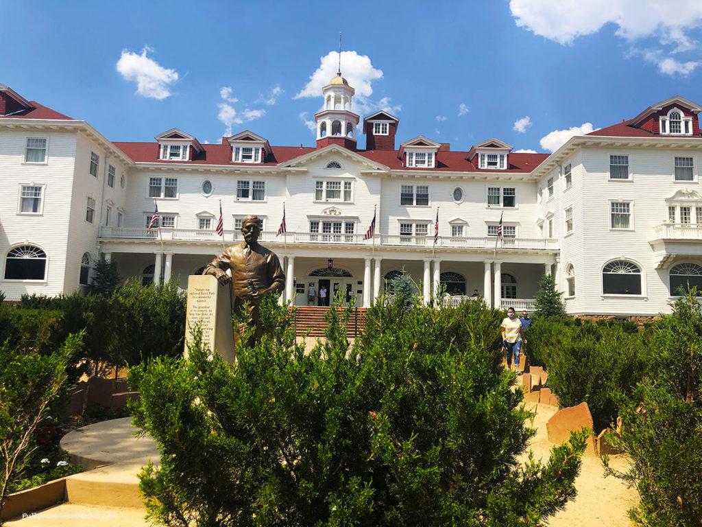 Exterior of The Stanly Hotel in Estes Park, Colorado