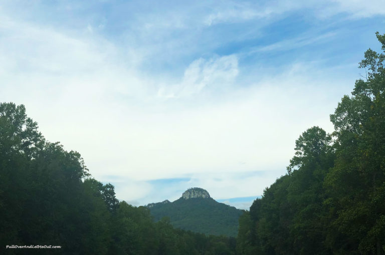 Pilot Mountain in North Carolina
