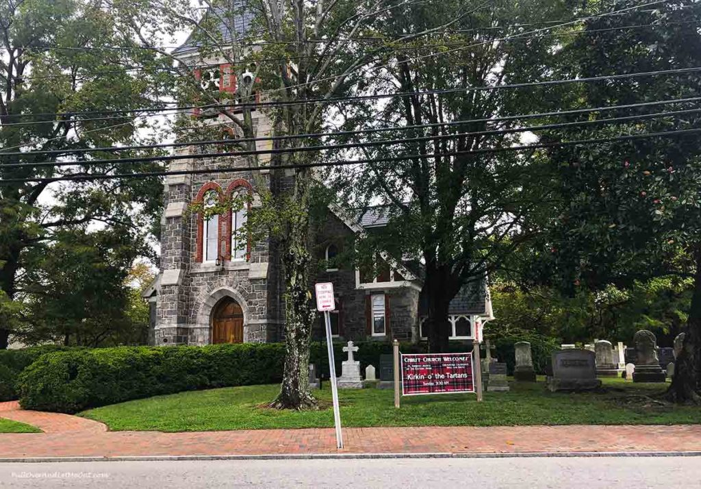 Christ Church in Saint Michaels Maryland