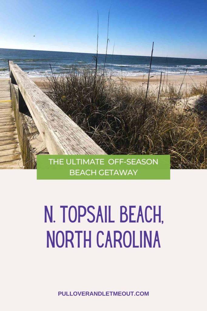 Beach at N. Topsail Beach, NC