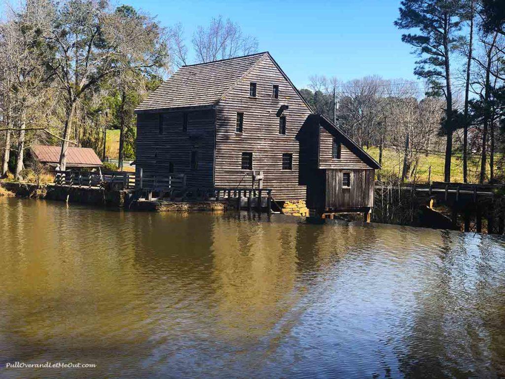 Historic Yates Mill in Raleigh, North Carolina