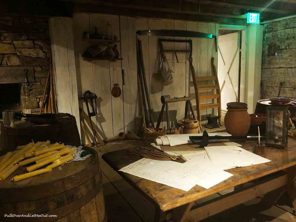 fort supplies at Fort Dobbs State Historic Site in Statesville, NC