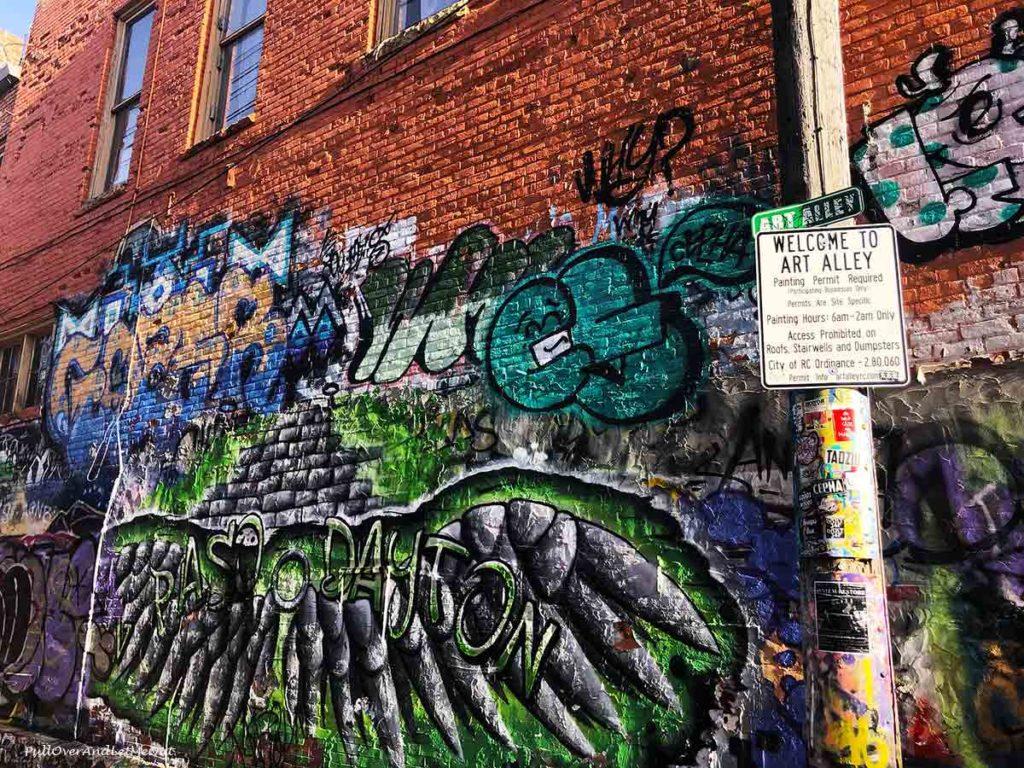 A street art mural