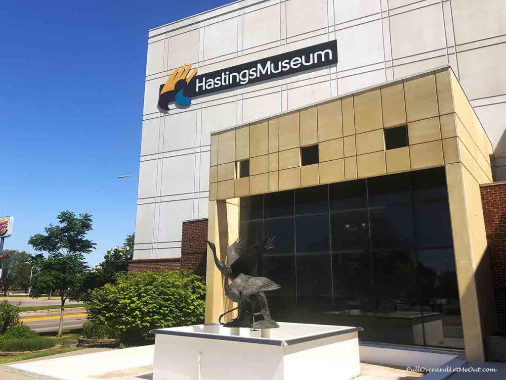 Hastings Museum building in Hastings, Nebraska