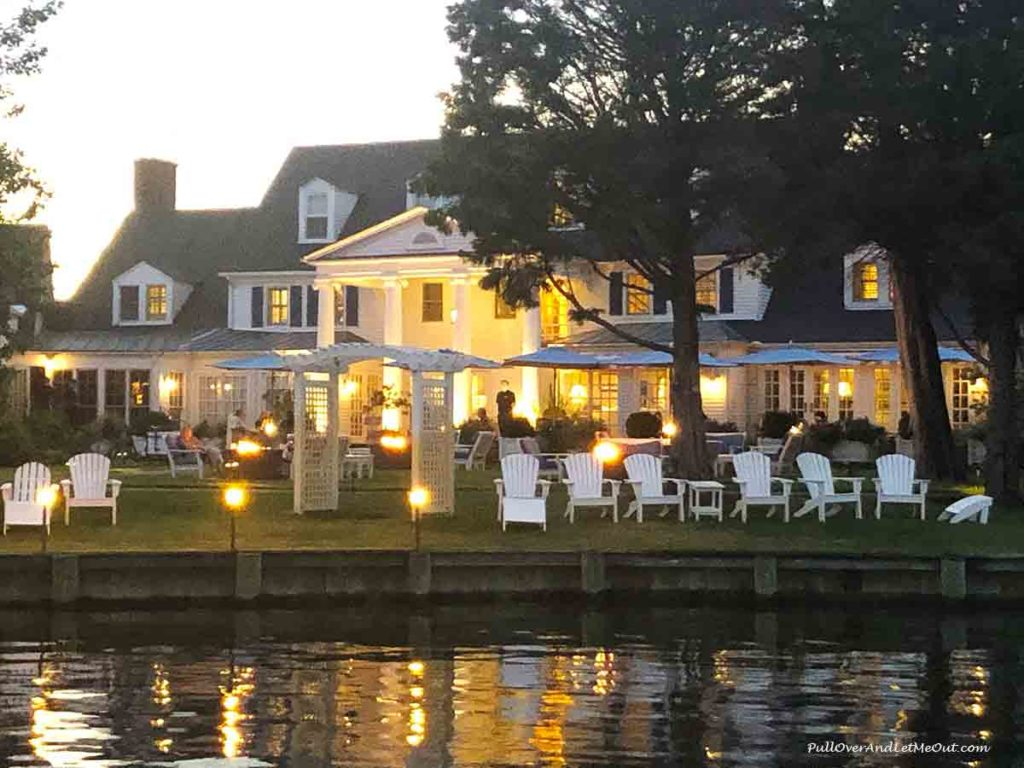 Inn at Perry Cabin in St. Michaels at sunset