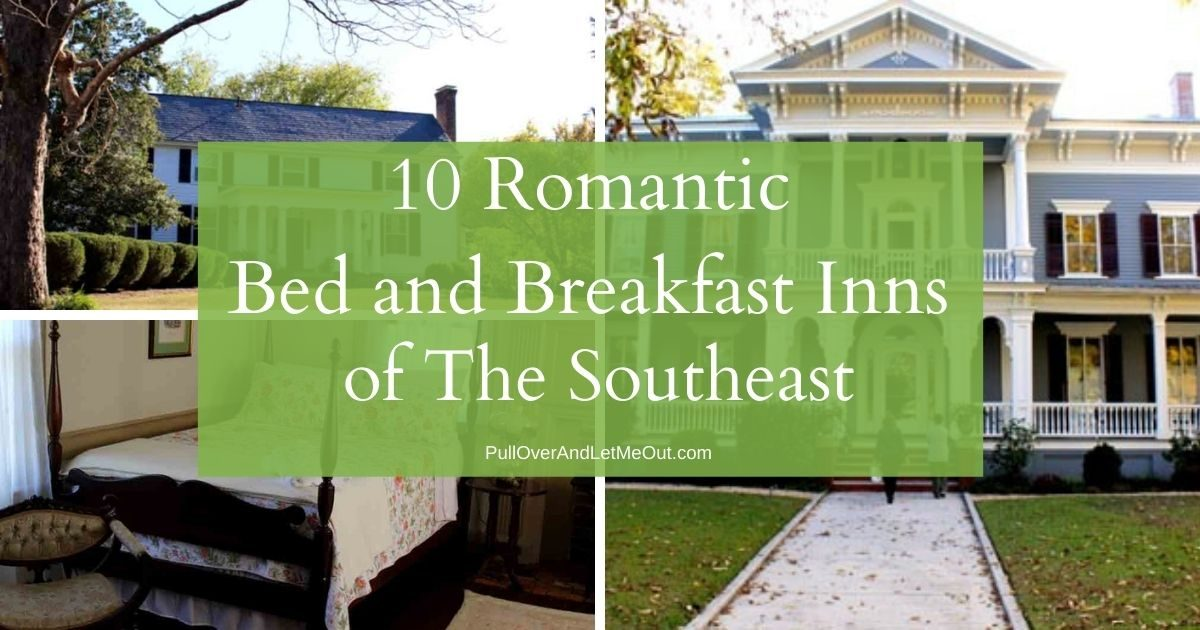 Cover photograph Romantic Bed and Breakfast Inns of The Southeast